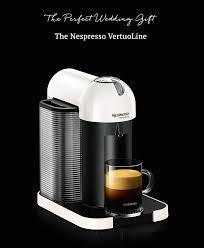Nespresso VertuoLine The Perfect Wedding Gift