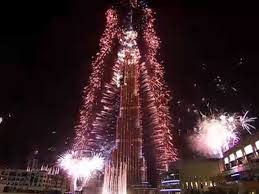 Dubai Record Fireworks New Year39s Business Insider Where to