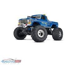 Traxxas Bigfoot 1/10 Scale No. 1 The Original Monster Truck ... Tmb Tv Mt Unlimited Moment Retro Bigfoot Monster Truck Qualifying Lego Technic Bigfoot 1 Rc Moc With Itructions Meet The Man Behind First Wsj Poster Ii Car Posters Monster Truck Defects From Ford To Chevrolet After 35 Years Atlanta Motorama Reunite 12 Generations Of Mons Tra360841 110 Scale Officially Licensed Replacementica 1047 Kiss Fm Working Lot Sled Part Original Box Classic Rtr Blue Hobbyquarters Traxxas 2wd Tq Eurorccom