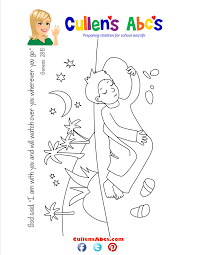 Bible Key Point Coloring Page Jacobs Dream