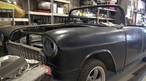 1955 Chevrolet Convertible Fiberglass Project Car - YouTube