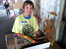 OddBallKidFun Global Cardboard Challenge At Caines Arcade