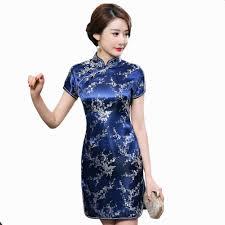 aliexpress com buy navy blue traditional chinese dress women u0027s