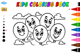 Kids Coloring Book HTML5 Educational Game