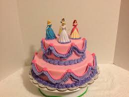Custom Cakes by Christy Pink & Purple Disney Princess Cake with
