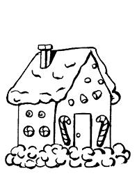 coloriage maison en d épice à imprimer gratuitement