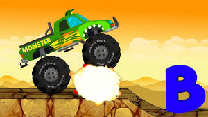 Monster Truck Destroyer ABC | Learn Alphabets - YouTube