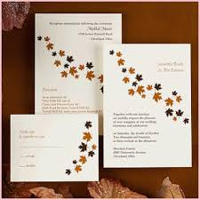 Unique Fall Wedding Invitations The Best Option 11 Invitation Wording Ideas Funny