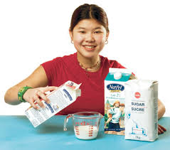 expérience 5 la crème glacée du prof la cuisine et la science