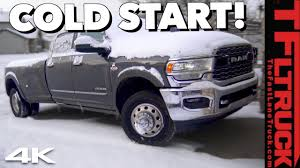 100 Videos Of Trucks New 2019 Ram HD Cummins Diesel Cold Start How Will It Come To Life