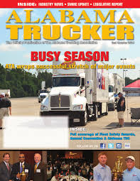 Alabama Trucker, 2nd Quarter 2014 By Alabama Trucking Association ... Brigtravels Live Montgomery To Birmingham Alabama Inrstate Index Of Imagestrucksinttional01969hauler Truckers Roll In County For A Cause The Daily Gazette Ricky Rude Proffitt Picks Up Second Bandit Truck Racing Win Solar Solutions Commercial Transportation Rennie Truckworxmontgomery Grand Opening Youtube Trucker 2nd Quarter 2014 By Trucking Association 2018 Kenworth W900l Day Cab Truck For Sale Al Ingaa Website Company Llc Sheriff Trailer Graphics Decals Tko Graphix 2006 Gmc Topkick C8500 Flatbed 286000 Miles