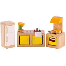 Hape Kitchen Set Malaysia by Amazon Com Hape All Seasons Kid U0027s Wooden Doll House Furnished