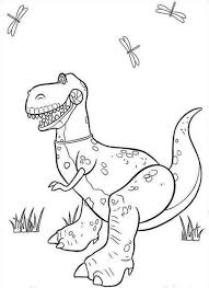 Toy Story Lego Dino Coloring Page Coloringplus 292372