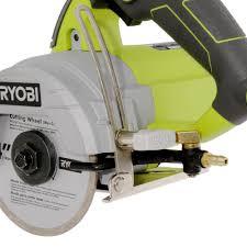 Ryobi Tile Saw Water Pump by Ryobi Tc401 4 In Hand Held Tile Saw 12 Amp Motor 120v Corded Blade