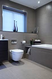Tiling A Bathroom Floor Around A Toilet by 10 Inspirational Examples Of Gray And White Bathrooms U003e U003e This
