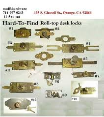 Oak Crest Roll Top Desk Key by Fantastic Replacement Key For Roll Top Desk Locks D1902 Ebay