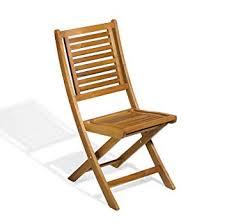 Folding Patio Chairs Amazon by Amazon Com Oxford Garden Capri Acacia Folding Chair 2 Pack