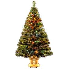 National Tree Company 4 Ft Fiber Optic Radiance Fireworks Artificial Christmas