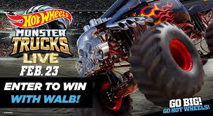 100 Monster Trucks Video You Could Win Hot Wheels Tickets