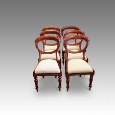 Set Of 6 Victorian Mahogany Balloon Back Dining Chairs ... Antique Victorian Ref No 03505 Regent Antiques Set Of Ten Mahogany Balloon Back Ding Chairs 6 Walnut Eight 62 Style Ebay Finely Carved Quality Four C1845 Reproduction Balloon Back Ding Chairs Fiddleback Style Table And In Traditional Living Living Room Upholstery 8 Upholstered Lloonback Antique French
