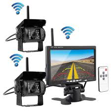 Podofo Wireless Vehicle 2 X Backup Cameras Parking Assistance ... Vehicle Backup Cameras Amazoncom Garbage Trucks Ip69k Waterproof Camera With Water Jet Cleaner Kit Box Truck Camper Install 70 Youtube Hardwired Backup Camera 1960 Airstream Ambassador Blog Pyle Plcm7200 On The Road Rearview Dash Cams Auto Vox Wireless Kit Review In 2018 Car 36 Inch Lcd Color Monitor And 24ghz Rv For Trucks Stealthy Auto Vox Cam1 Hd Nissan Frontier Forum Best Car Audio In Columbus Ohio