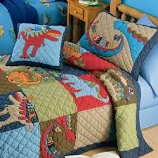 Scaryosaurus Quilt And Dinosaur Land Bedding