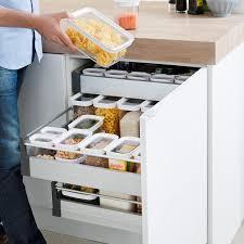 boite de rangement cuisine boîte de rangement cuisine empilable plastique 2 2 litres