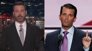 Hey Jimmy Kimmel I Did by Donald Trump Jr Calls Out Jimmy Kimmel For Being A Hypocrite