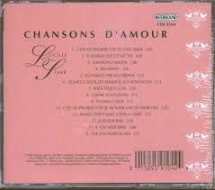 d amour lucille cd chanson d amour cd family records