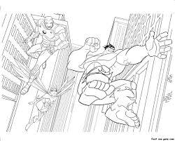 Hulkbuster Coloring Pages Hulk Pdf Iron Man Printable Kids Smash Full Size
