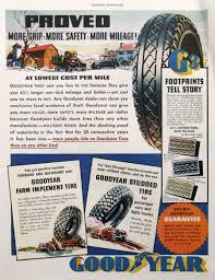 100 Light Duty Truck Tires 1935 Goodyear Tire Print Ad Heavy Farm Etsy