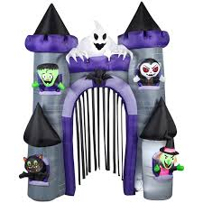Disney Halloween Airblown Inflatables by Airblown Inflatable Haunted Castle Archway