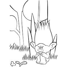 Dibujos Para Colorear De La Pelicula Trolls