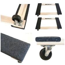 Furniture Sliders For Hardwood Floors Home Depot by Groom Industries Ac023 Ez Moves 4 Ft Furniture Sliders 2 Pack