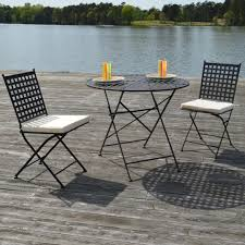 Outdoor Table + 2 Chairs With Cushions (Wholesale Available)