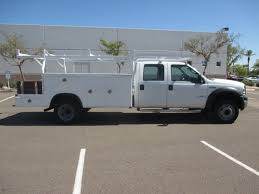 100 Used Work Trucks USED 2006 FORD F550 SERVICE UTILITY TRUCK FOR SALE IN AZ 2370