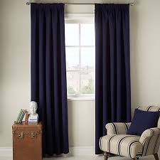 buy john lewis cotton rib lined pencil pleat curtains john lewis