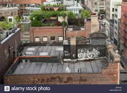 100 Tribeca Roof Looking East In Across The Rooftops Of Old
