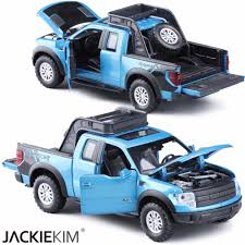 100 New Ford Pickup Truck Free Shipping F150 Raptor 132 Truck Alloy Car Toy