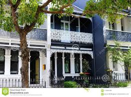 100 Sydney Terrace House Darlinghurst S NSW Australia Stock Photo