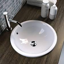 unterbau rund eingebautes waschbecken 42 olympia