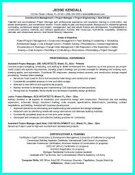Construction Project Manager Resume Samples 14