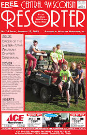 Central Wisconsin Pumpkin Patches by Central Wisconsin Resorter 2013 No 39 By Wautoma Newspapers Issuu