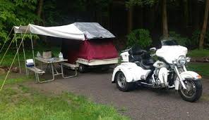 Motorcycle Tent Trailers
