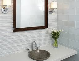 Brown Mosaic Bathroom Mirror by Ethnic Brown And Black Oak Wood Mixed Black Metal Frame Double