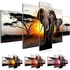 wandbilder schlafzimmer afrika elefant moderne bilder