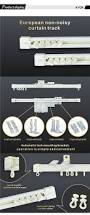 Ceiling Mount Curtain Track by Kyok Selling Round Flexible Curtain Rail Curtain Track Glider