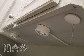 recessed cabinet lighting diystinctly made