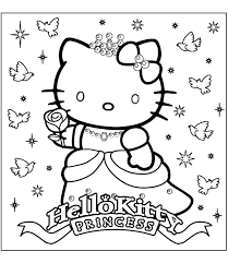 Coloring PageFree Pages To Color Free Marvelous Book Kitty Hello