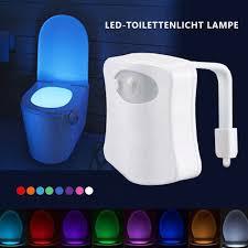 8 16 led toilette licht nachtlicht badezimmer